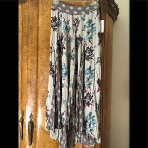 Free People NWT maxi skirt